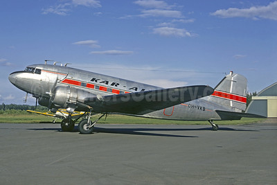 Kar-Air Finland Douglas DC-3-214 OH-VKB (msn 1975) (Jacques Guillem Collection). Image: 920494.