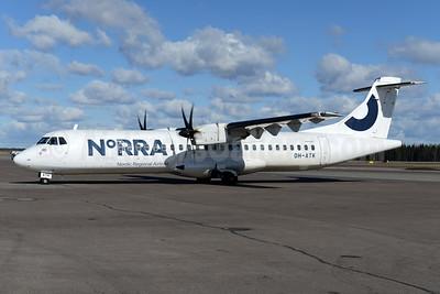 Norra - Nordic Regional Airlines ATR 72-212A (ATR 72-500) OH-ATK (msn 848) HEL (Ton Jochems). Image: 937419.