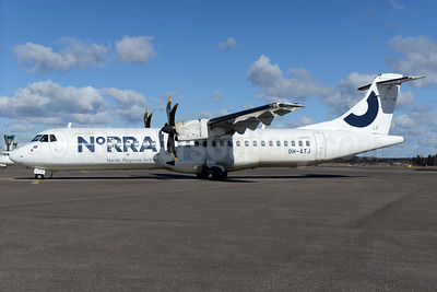 Norra - Nordic Regional Airlines ATR 72-212A (ATR 72-500) OH-ATJ (msn 792) HEL (Ton Jochems). Image: 937418.