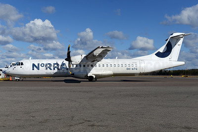 Norra - Nordic Regional Airlines ATR 72-212A (ATR 72-500) OH-ATG (msn 757) HEL (Ton Jochems). Image: 937416.
