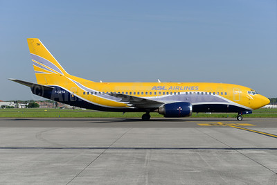 ASL Airlines (France) Boeing 737-33V F-GZTA (msn 29333) (Europe Airpost colors) BRU (Ton Jochems). Image: 932912.