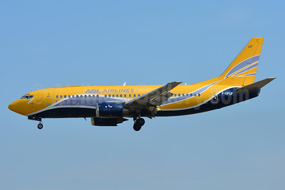 ASL Airlines (France) Boeing 737-3B3 (QC) F-GFUF (msn 24388) (Europe Airpost colors) TLS (Paul Bannwarth). Image: 937390.