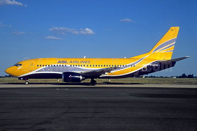 ASL Airlines (France) Boeing 737-33V F-GZTA (msn 29333) (Europe Airpost colors) ORY (Jacques Guillem). Image: 937389.