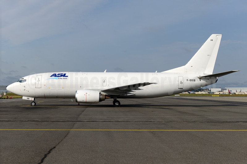 ASL Airlines (France) Boeing 737-33A (QC) F-GIXB (msn 24789) TLS (Ton Jochems). Image: 937388.
