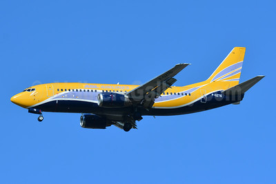 ASL Airlines (France) Boeing 737-33V F-GZTB (msn 29336) (Europe Airpost colors) BSL (Paul Bannwarth). Image: 943699.