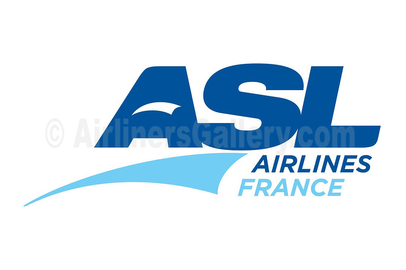1. ASL Airlines France logo