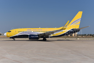 ASL Airlines (France) Boeing 737-73S WL F-GZTO (msn 29081) (Europe Airpost colors) AYT (Ton Jochems). Image: 943701.