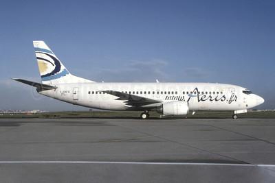 Aeris (www.Aeris.fr) Boeing 737-3Q8 F-GNFD (msn 26317) ORY (Jacques Guillem). Image: 949542.
