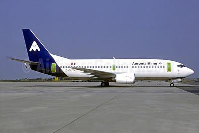 Aeromaritime (2nd) Boeing 737-33A G-OUTA (F-GFUA) (msn 23635) CDG (Christian Volpati). Image: 900324.