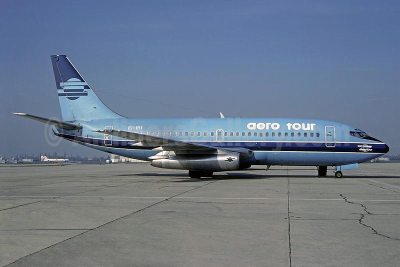 Aero Tour Boeing 737-2L9 EI-BII (msn 21279) (Maersk Air colors) ORY (Christian Volpati). Image: 901161.