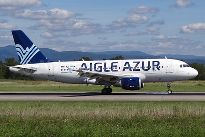 Aigle Azur Transport Aeriens (2nd) Airbus A319-114 F-HBMI (msn 639) BSL (Paul Bannwarth). Image: 928668.