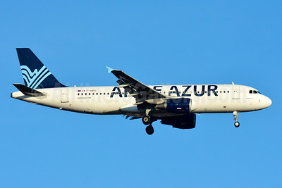 Aigle Azur Transport Aeriens (2nd) Airbus A320-214 F-HBIS (msn 3136) BSL (Paul Bannwarth). Image: 935155.