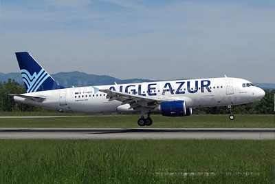 Aigle Azur Transport Aeriens (2nd) Airbus A320-214 F-HBIO (msn 2342) BSL (Paul Bannwarth). Image: 922806.