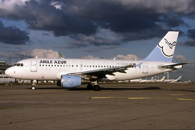 Aigle Azur Transport Aeriens (2nd) Airbus A319-112 F-GXAH (msn 1846) ORY (Pepscl). Image: 901259.