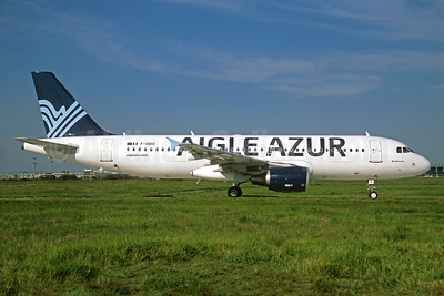 Aigle Azur Transport Aeriens (2nd) Airbus A320-214 F-HBIO (msn 3242) ORY (Jacques Guillem). Image: 935157.
