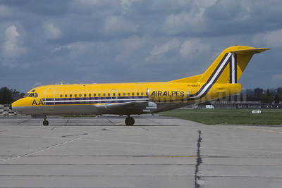 Air Alpes (France) Fokker F.28 Mk. 1000 F-BUTI (msn 11034) LBG (Christian Volpati Collection). Image: 948740.