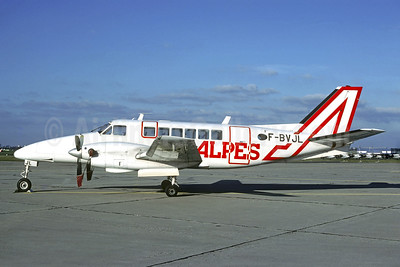 Air Alpes Beechcraft 99 F-BVJL (msn U-84) LBG (Christian Volpati). Image: 903504.