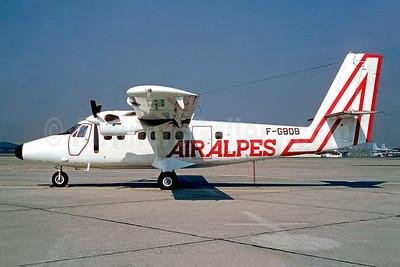 Air Alpes de Havilland Canada DHC-6-300 Twin Otter F-GBDB (msn 574) LBG (Christian Volpati). Image: 952779.