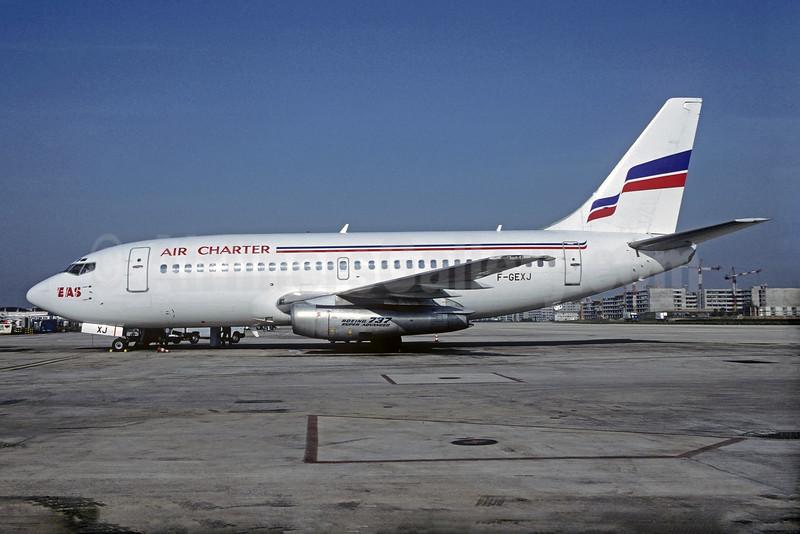 Air Charter - EAS Boeing 737-2Q8 F-GEXJ (msn 22760) CDG (Christian Volpati). Image: 927279.