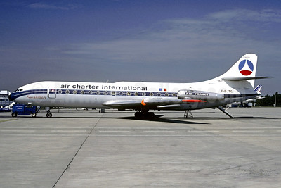 Air Charter International-Air France Sud Aviation SE.210 Caravelle 3 F-BJTG (msn 115) (Air France colors) CDG (Christian Volpati). Image: 902278.