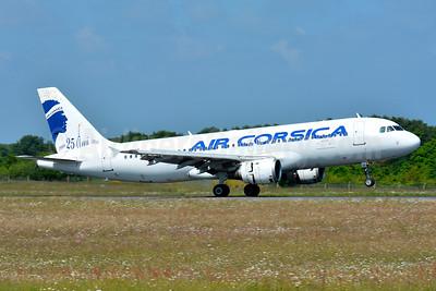 Air Corsica's 25th Anniversary A320 logo jet