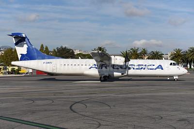 Air Corsica ATR 72-212A (ATR 72-500) F-GRPJ (msn 724) NCE (Ton Jochems). Image: 942633.