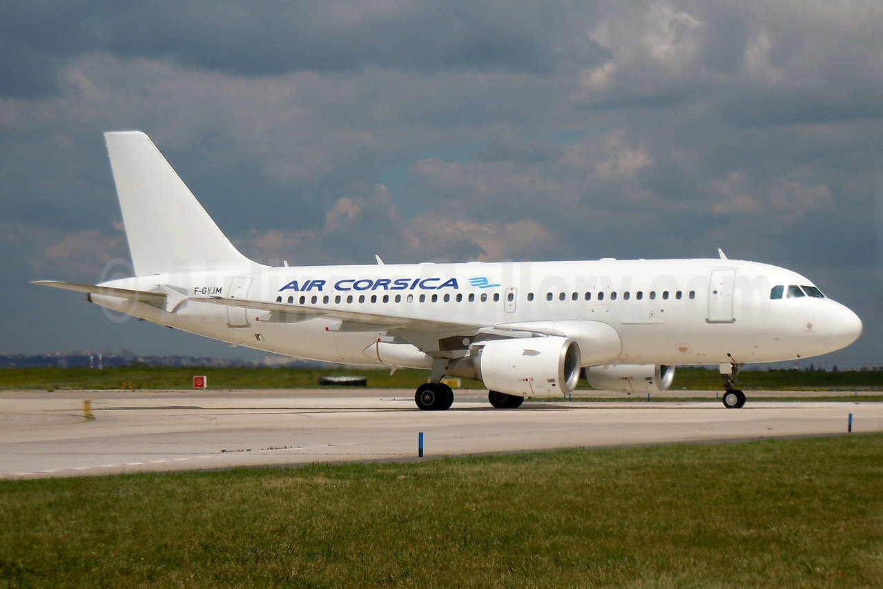 Air Corsica Airbus A319-112 F-GYJM (msn 1145) ORY (Pepscl). Image: 906732.