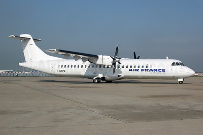 Air France by Airlinair ATR 72-202 F-GKPD (msn 177) ORY (Pepscl). Image: 952873.