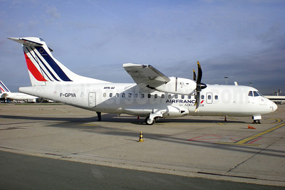 Air France by Airlinair ATR 42-500 F-GPYA (msn 457) ORY (Pepscl). Image: 905376.