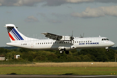 Air France by Airlinair ATR 72-202 F-GPOD (msn 361) SOU (Antony J. Best). Image: 902902.