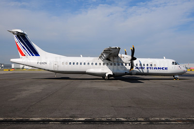 Air France by Airlinair ATR 72-212A (ATR 72-500) F-GVZN (msn 563) TLS (Ton Jochems). Image: 952872.