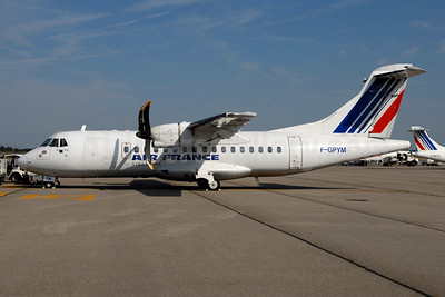 Air France by Airlinair ATR 42-500 F-GPYM (msn 520) LYS (Ton Jochems). Image: 952874.