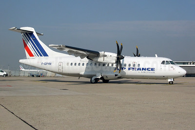 Air France by Airlinair ATR 42-500 F-GPYM (msn 520) ORY (Pepscl). Image: 952875.