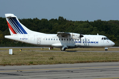 Air France by Airlinair ATR 42-500 F-GPYO (msn 544) NTE (Paul Bannwarth). Image: 929240.