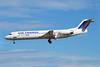 Air France by Brit Air Fokker F.28 Mk. 0100 F-GPXG (msn 11387) BCN (Richard Vandervord). Image: 900810.
