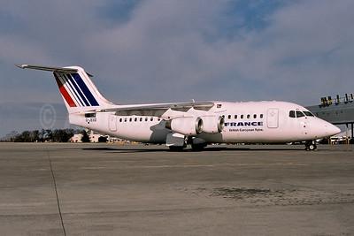 Air France by British European (2nd) - Flybe BAe 146-200 G-JEAS (msn E2020) (Ton Jochems). Image: 954087.