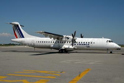 Air France by CCM Airlines ATR 72-202 F-GKPD (msn 177) LYS (Ton Jochems). Image: 954088.