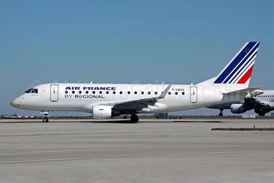 Air France (Regional Compagnie Aerienne Europeenne) Embraer ERJ 170-100ST F-HBXE (msn 17000286) CDG (Christian Volpati). Image: 905208.