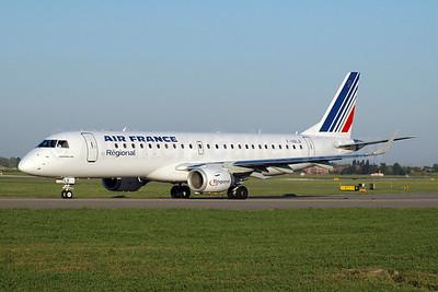 Air France (Regional Compagnie Aerienne Europeenne) Embraer ERJ 190-100LR F-HBLB (msn 19000060) BLQ (Marco Finelli). Image: 905209.