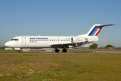 Air France (Regional Compagnie Aerienne Europeenne) Fokker F.28 Mk. 0070 F-GLIT (msn 11541) CDG (Ton Jochems). Image: 954090.