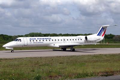 Air France (Regional Compagnie Aerienne Europeenne) Embraer ERJ 145EU F-GRGF (msn 145050) NTE (Paul Bannwarth). Image: 920073.