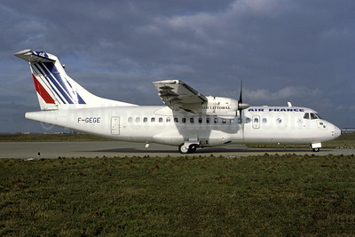 Air France - Air Littoral ATR 42-300 F-GEGE (msn 3) ORY (Franck Bouniol - Bruce Drum Collection). Image: 952347.