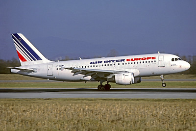 Air Inter Europe Airbus A319-113 F-GPMA (msn 598) BSL (Christian Volpati Collection). Image: 950251.