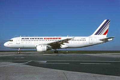 Air Inter Europe Airbus A320-211 F-GHQF (msn 130) ORY (Christian Volpati). Image: 932575.