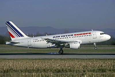 Air Inter Europe Airbus A319-113 F-GPMD (msn 618) BSL (Christian Volpati Collection). Image: 950252.