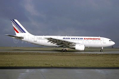 Air Inter Europe Airbus A300B2-1C F-BUAO (msn 048) ORY (Jacques Guillem). Image: 950253.