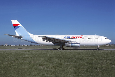Air Inter Airbus A300B2-1C F-BUAG (msn 015) ORY (Jacques Guillem). Image: 950254.