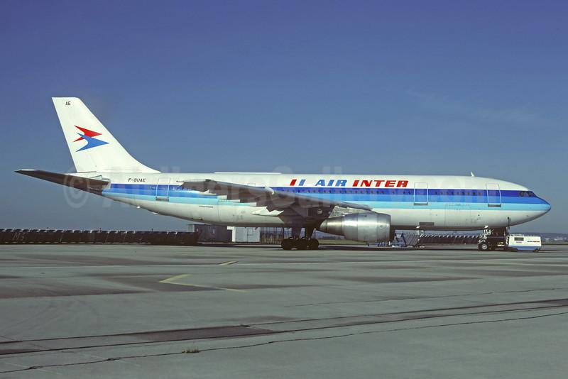Air Inter Airbus A00B2-1C F-BUAE (msn 004) ORY (Christian Volpati). Image: 927878.