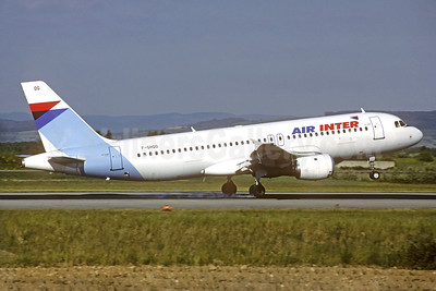 Air Inter Airbus A320-211 F-GHQG (msn 155) BSL (Christian Volpati Collection). Image: 932576.