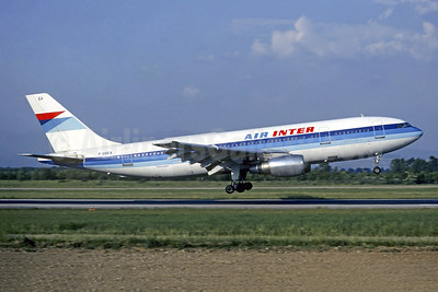 Air Inter Airbus A300B2-1C F-GBEA (msn 050) BSL (Christian Volpati Collection). Image: 950256.